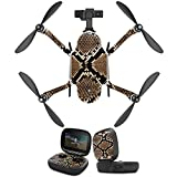 MightySkins Protective Vinyl Skin Decal for GoPro Karma Drone Headphones wrap Cover Sticker Skins Rattler