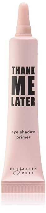Eye Primer Makeup Eyeshadow Base: Elizabeth Mott Thank Me Later Eye Shadow Base to Prevent Oily Lids & Creasing - Clear Waterproof Eyeshadow Primer for All Shadows - Paraben Free & Cruelty Free, 10g
