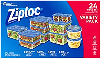 Ziploc 24-Piece Food Storage Container Set