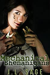Mechanical Shenanigans (Steampunk Erotica, Older Men Younger Women) (Tails of Naria Book 1)