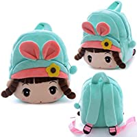 "Gloveleya Plush Kid's Backpack Shoulder Bag Kindergarten Kids Children 11"""