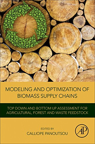 Modeling and Optimization of Biomass Supply Chains: Top-Down and Bottom-up Assessment for Agricultural, Forest and Waste -