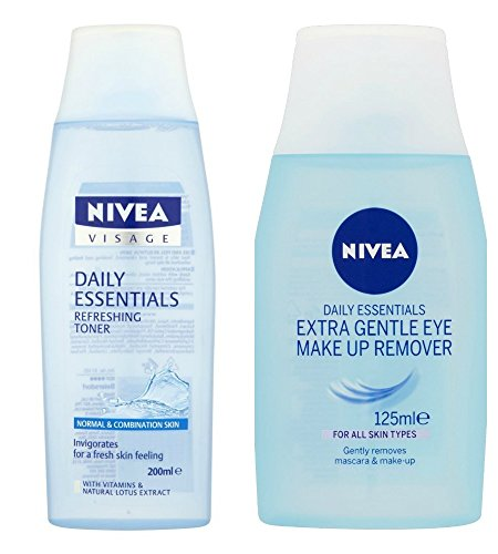 Nivea Visage Eye Make-Up Remover 77145 125ml Eye Make-up Remover Refreshing Toner