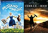 Most Loved Holiday Musicals Anniversary Collection - Fiddler on the Roof (40th Anniversary Edition) & The Sound of Music (50th Anniversary Edition) 2-DVD Bundle