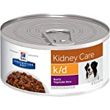 Hills Prescription Diet k/d Renal Health Beef & Vegetable Stew Canned Dog Food 24/5.5 oz Review