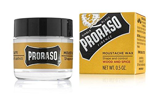 Proraso Moustache Wax, 0.5 Oz
