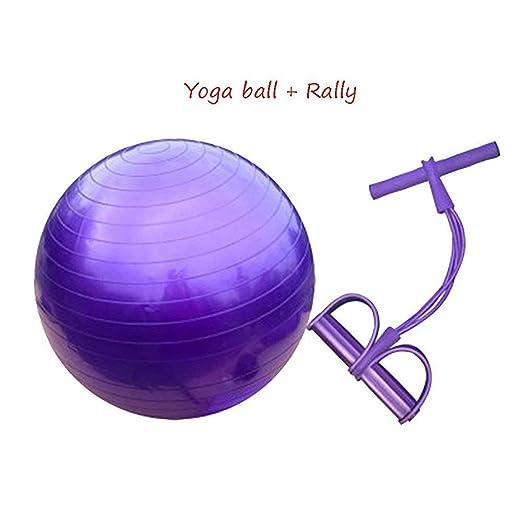 Haimoo Bola de Yoga + Rally, Pelota de Gimnasia para niños Adultos ...