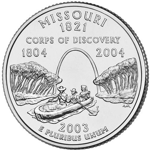 2003 S Clad Proof Missouri State Quarter Choice Uncirculated US Mint