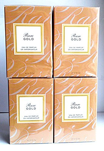Rare Gold Perfume - 4 x AVON Rare Gold Eau de Parfum 50ml - 1.7fl.oz. SET !