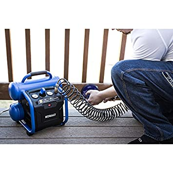 Kobalt 2-Gallon Portable Electric Twin Stack Air Compressor - - Amazon.com