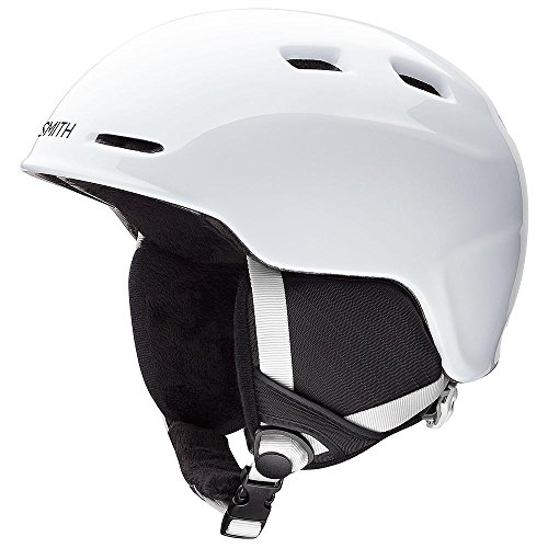Smith Optics Unisex Youth Zoom Jr Snow Sports Helmet - White Youth Small (48-53CM)