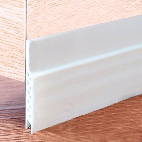 Impfunical Door Bottom Seal Strip Under Door Sweep Weather Stripping Energy & Money Saving Under Door Draft Stopper,1.77