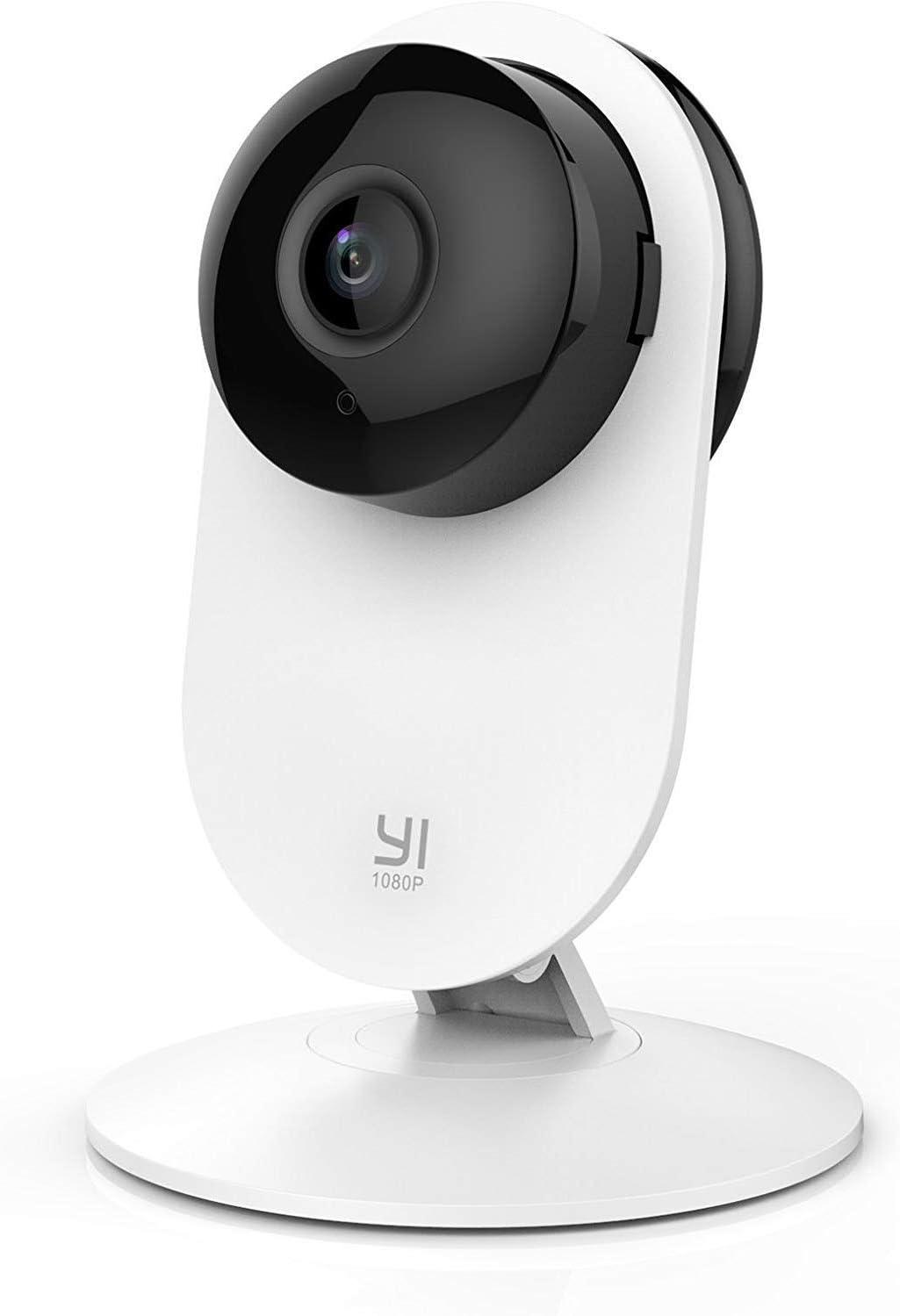 YI 1080p caméra Accueil, intérieur système de Surveillance de la sécurité IP avec Vision Nocturne pour la Maison/Bureau/bébé/nourrice/Pet Moniteur avec iOS, Android app - Service Cloud disponi