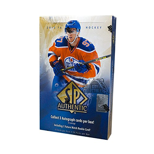 Hockey Hobby Pack - 2015-16 Upper Deck SP Authentic Hockey Hobby Box