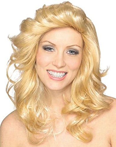 Rubie's 70's Blond Angel Wig, Yellow, One Size (Angel Wig Brown)