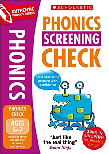2020 Phonics Screening Check Practice Papers National ...