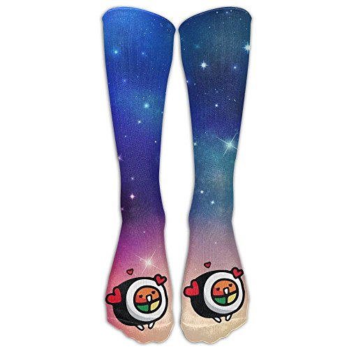 Sushi - Roll Love Casual Unisex Sock Knee Long High Socks Sport Athletic Crew Socks One Size
