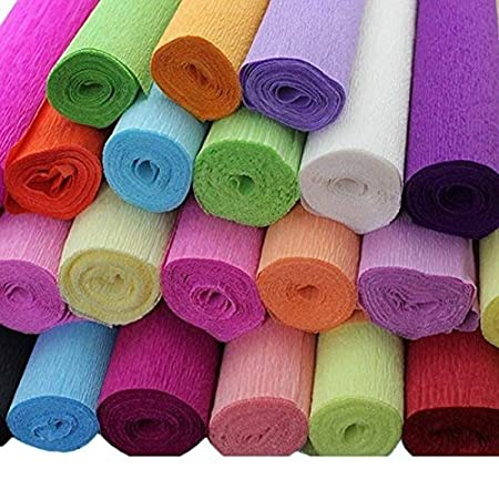 1 Roll 8ft X 20 Crepe Paper Streamer Wedding Birthday Party Supplies Decorations #07 Champagne
