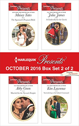 book cover of Harlequin Presents October 2016 - Box Set 2 of 2