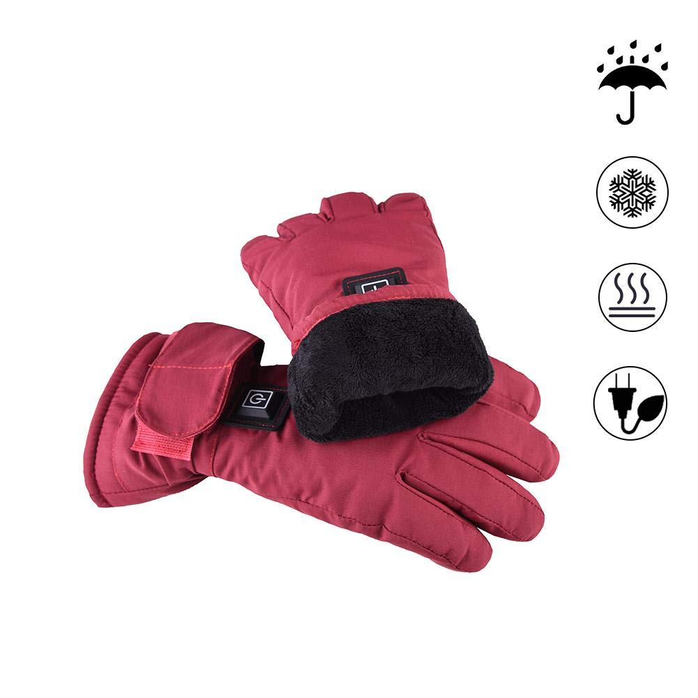 Yunt Electric Heated Gloves,Waterproof Touch Screen Heating Gloves by Yunt (Image #2)