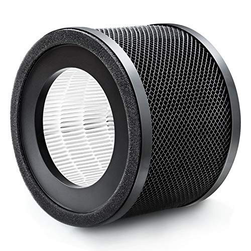 Air Purifier Filter, TaoTronics Air Purifier Replacement Filter, 3-in-1 True HEPA Filter Compatible with TaoTronics TT…