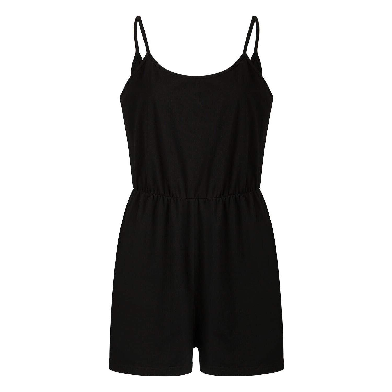 WONdere Women Boho Sleeveless Jumpsuit Holiday Mini Playsuit Summer Beach Rompers