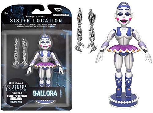 Funko Five Nights at Freddy's Ballora Articulated Action Figure, ()
