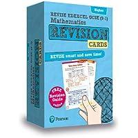 REVISE Edexcel GCSE (9-1) Mathematics Higher Revision Cards: includes FREE online Revision Guide