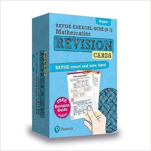 Revise Edexcel Gcse (9-1) Mathematics Higher Revision Cards: Includes Free Online Revision Guide por Harry Smith