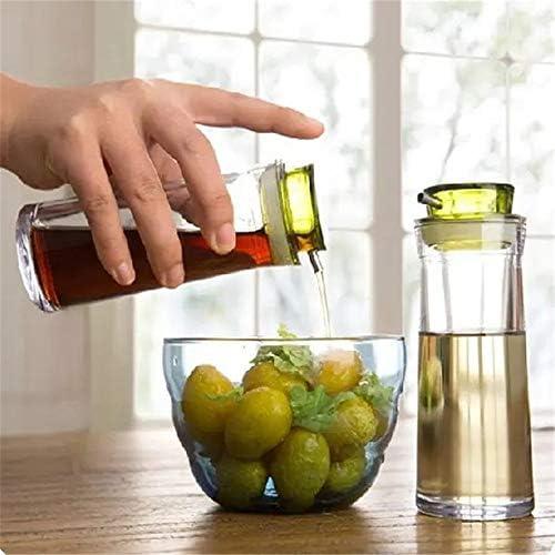 調味料入れ クリエイティブコントロール可能オイラー封印された漏れ防止のオイルボトルしょうゆ調味料ボトル調味料ボックス スパイス容器 (Color : Random Color, Size : 15x5.5x4.3cm)