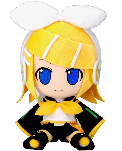"Official Nendoroid Vocaloid Series 06 Plush Toy - 12"" Kagamine Rin (Japanese Import)"