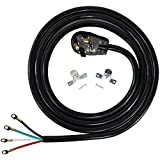 4 wire dryer cord 10 ft - Certified Appliance Accessories 4-Wire Closed-Eyelet 30-Amp Dryer Cord, 10ft