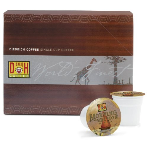 Diedrich Coffee Morning Edition, 24-Count K-Cups for Keurig Brewers (Pack of (Edition Two Pack)