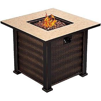 Amazon Com Az Patio Heaters Gs F Pc Propane Fire Pit Antique