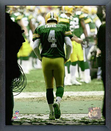 Brett Favre Green Bay Packers Action Photo (Size: 17
