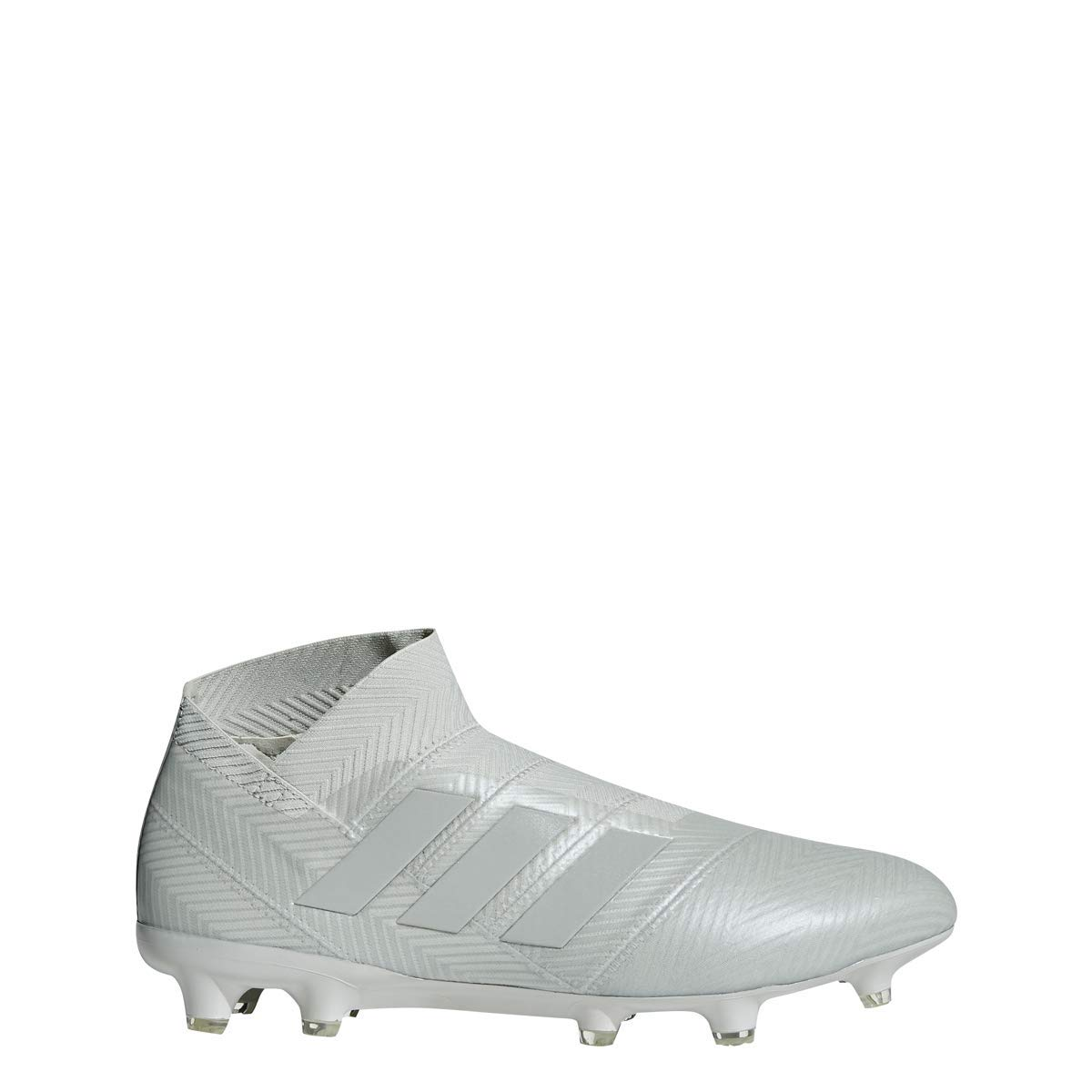 White adidas Nemeziz 18+ FG Cleat Men's Soccer