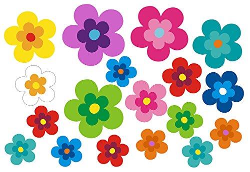 Fiori Hippie.Hippie Blumen Aufkleber Autoaufkleber Hippie 039 Bunt Gemischt
