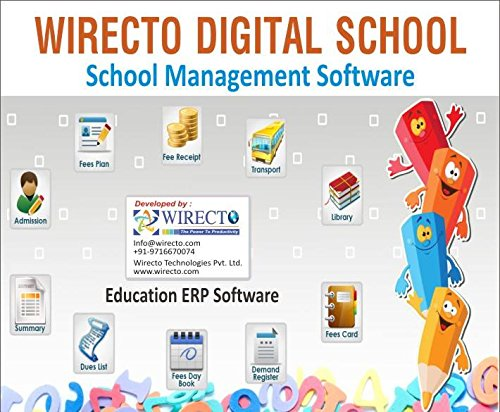 Wirecto Digital School Management Software: Amazon in: Software