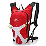 Cheap West Biking Cycling Mini Bicycle Backpack Bike Bag Outdoor Sports Rucksack for Camping Hiking Running Daypacks-Red