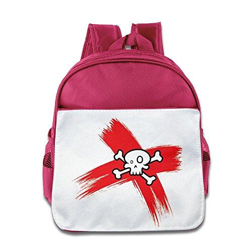 Toddler Preschool Bookbag Cute Kids Skeleton Skull Ban Shoulder Bag For Little Boys And Girls