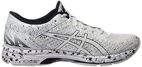 Asics Gel-Noosa Tri 11, Zapatillas de Entrenamiento Hombre, Blanco Multicolor (White/white/black)
