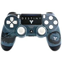 """""""Fate"""" Ps4 PRO Rapid Fire Custom Modded Controller 40 Mods for All Major Shooter Games, Auto Aim, Quick Scope Sniper Breath & More with Custom Touchpad and Lightbar (CUH-ZCT2U)"""