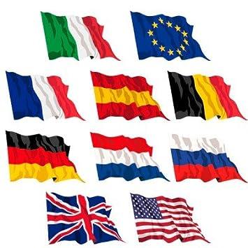 Septiembre 10 banderas de 90 x 150 cm Estados Unidos y ...