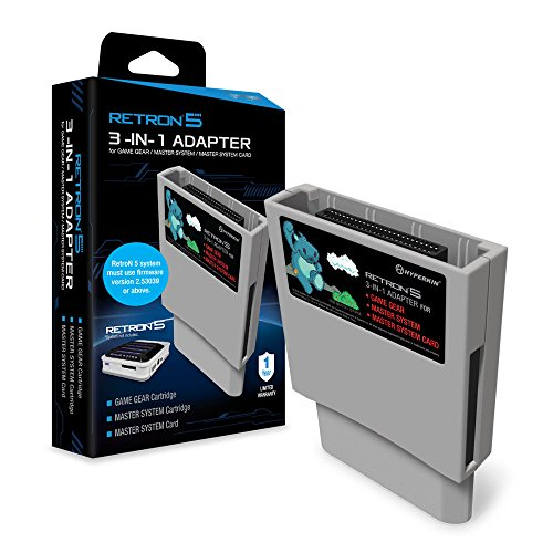 (Hyperkin RetroN 5 3-in-1 Adapter for Game Gear, Master System, and Master System Card)