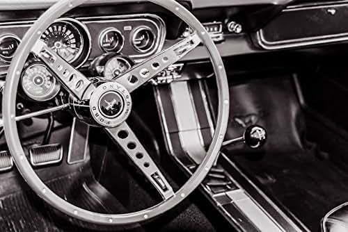 1966 ford mustang steering wheel dashboard. Black Bedroom Furniture Sets. Home Design Ideas
