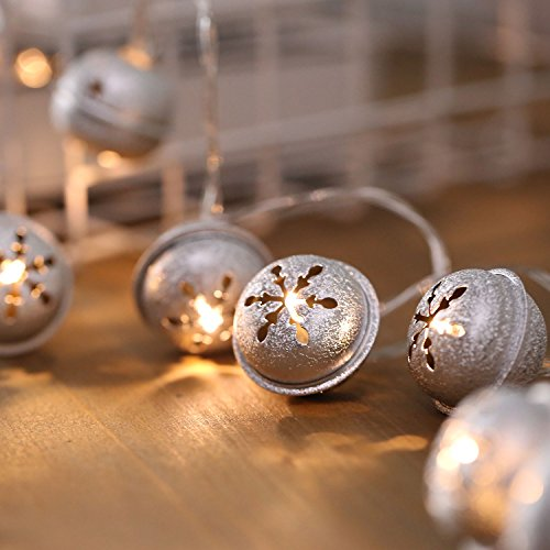 Silver Christmas Tree With Led Lights