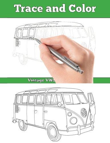 Trace and Color Vintages VWS Adult Activity Book [Biggio, Jordan] (Tapa Blanda)