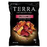 TERRA Sweets & Beets Chips, No Salt Added, 6 oz. (Pack of 12)