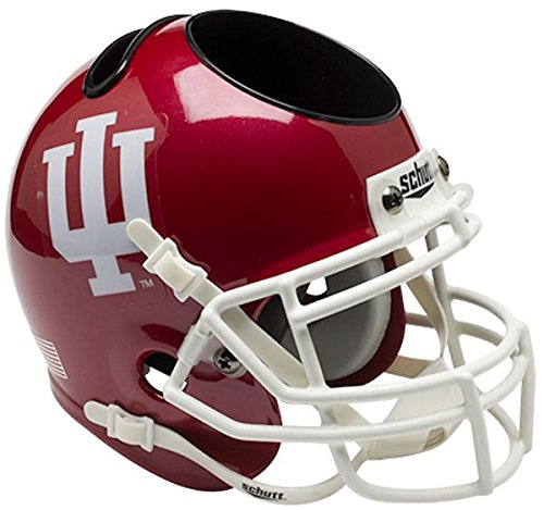 Schutt NCAA Indiana Hoosiers Authentic Mini Football Helmet Desk Caddy