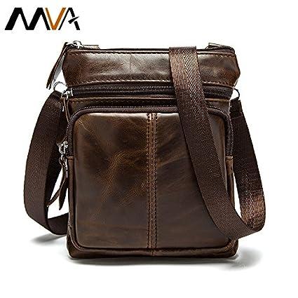 Buy Genric 701Brown, China   MVA Men Bags Genuine Leather Bag Hot Sale  Small Crossbody Shoulder Bag Brand Vintage Design Men Messenger Bags Man  Coin Purse ... f4d483095a